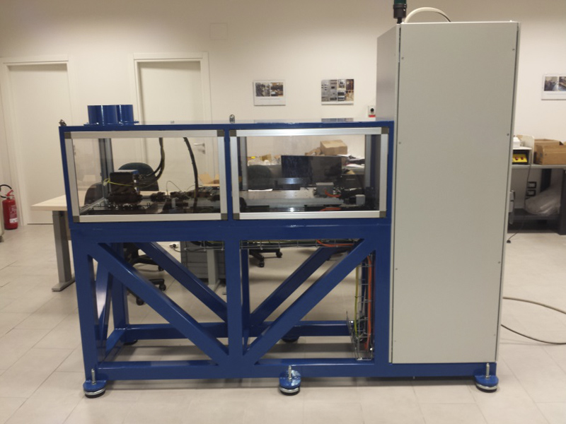 Test bench for ATP test of primary actuators