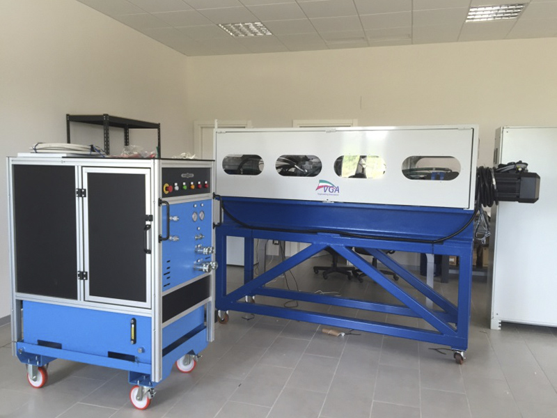 Test bench for fatigue test on ballscrews